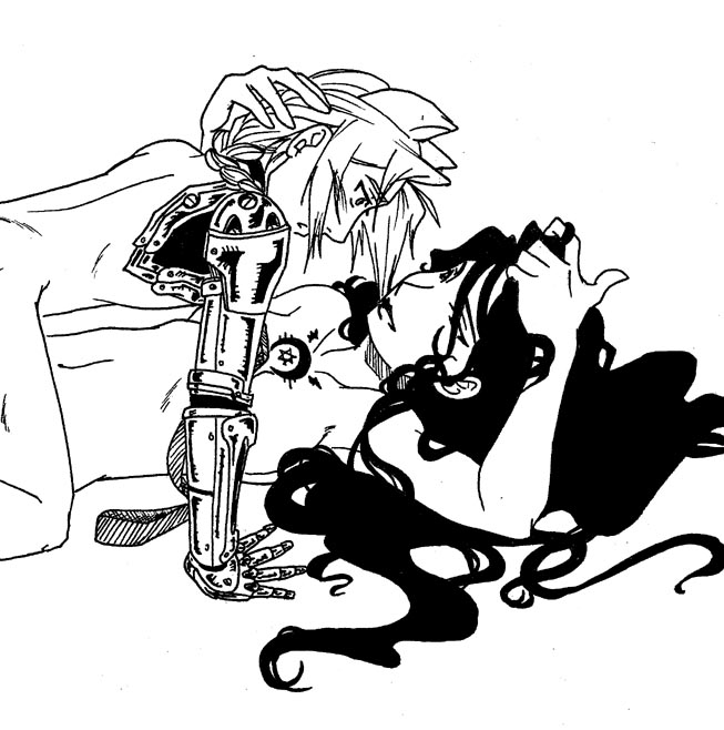 fullmetal dog alchemist and girl M&m