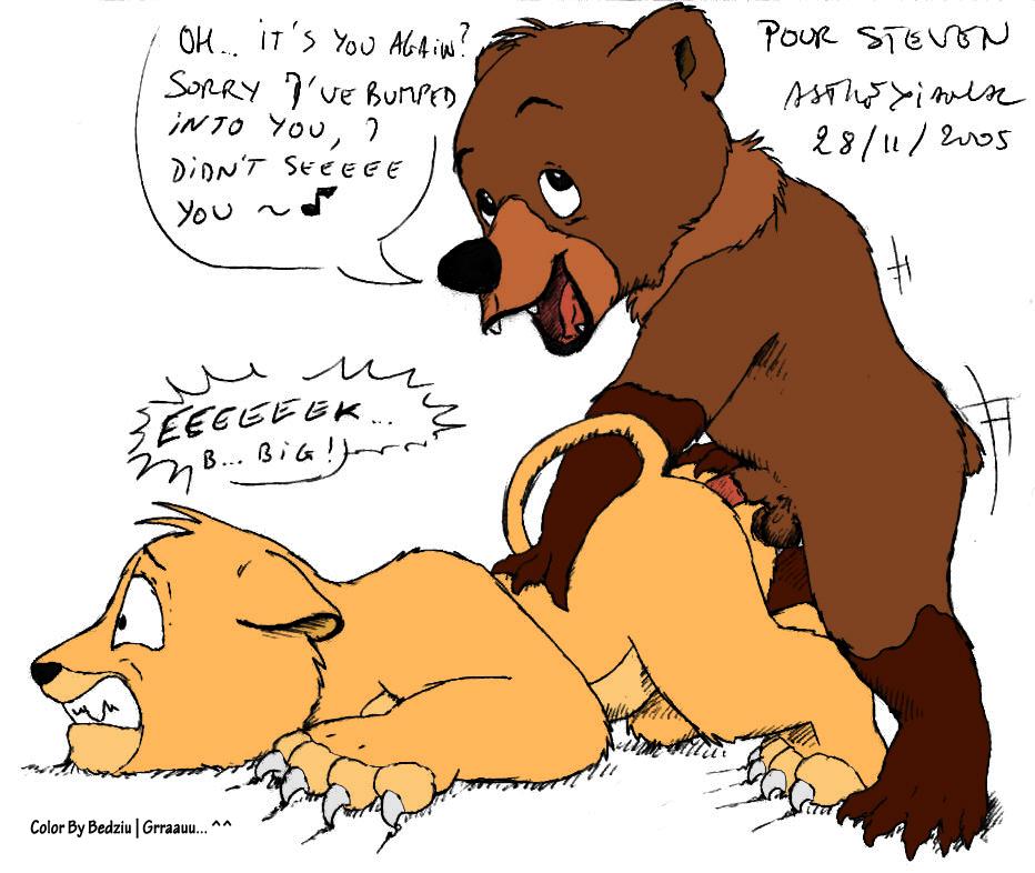 tuke and rutt brother bear Street fighter chun li thicc
