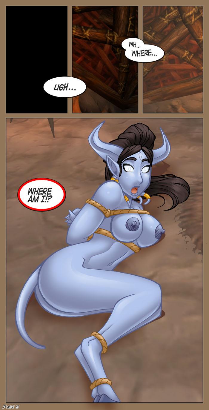 sex warcraft comics world of G gundam george de sand