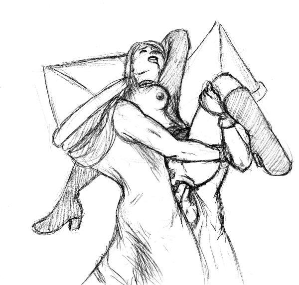 keeper vs pyramid head the Kore wa zombie desu ka sarasvati