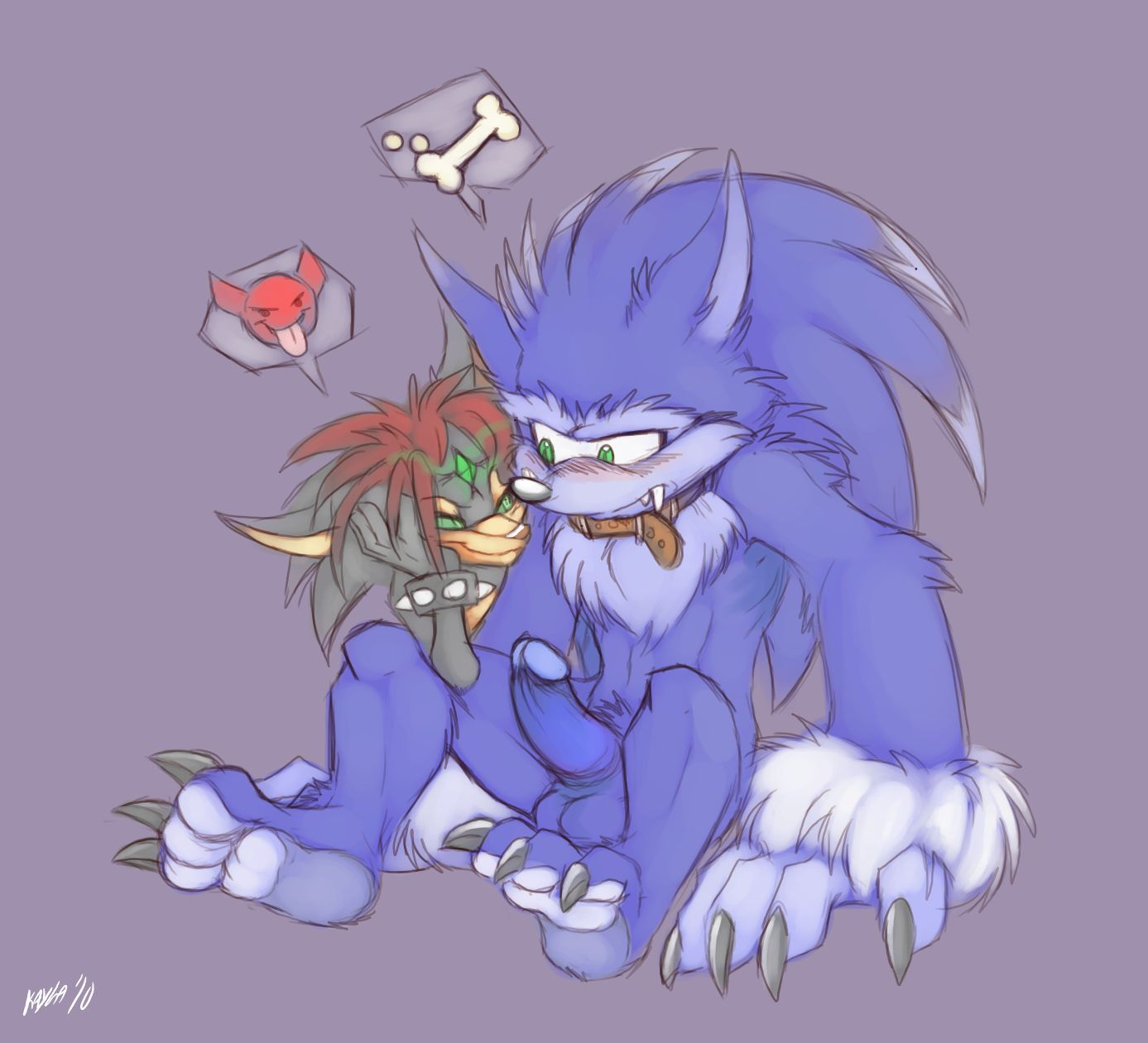 images sonic werehog of the Naruto and android 18 fanfiction
