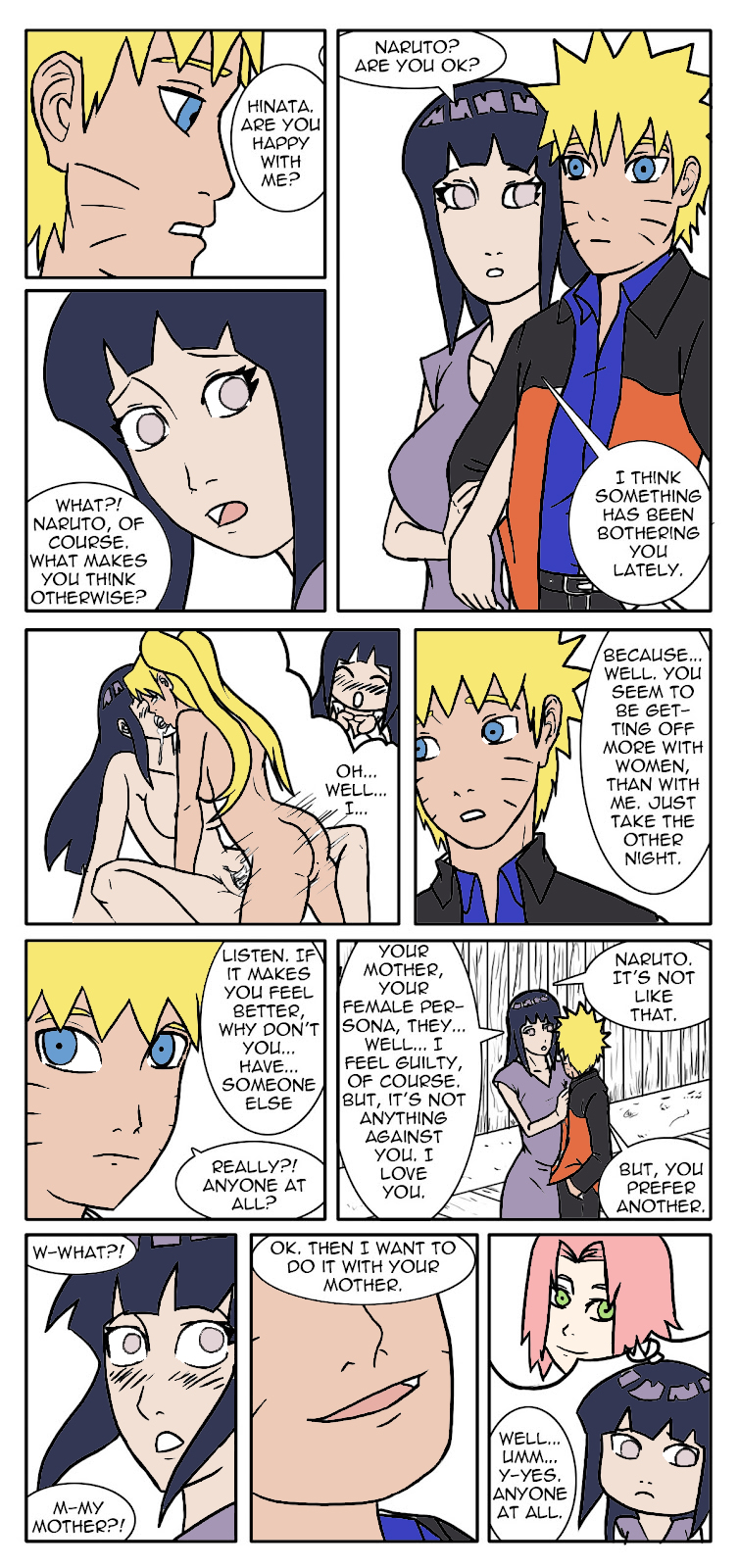 mother fanfiction is fem naruto a Gay cum in ass gif