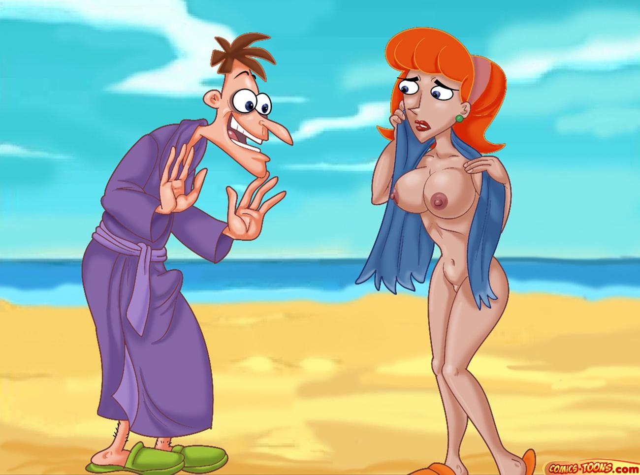 and phineas comic ferb porn Cartoon network out of jimmy's head