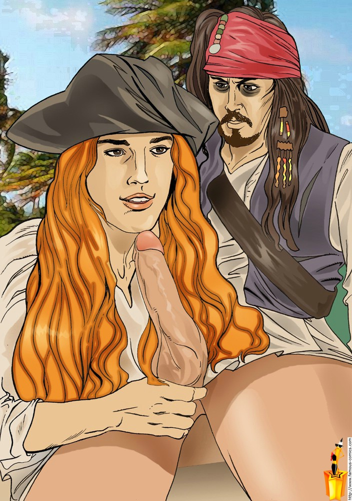 pirates the comic porn of caribbean Fairy tail is freed gay
