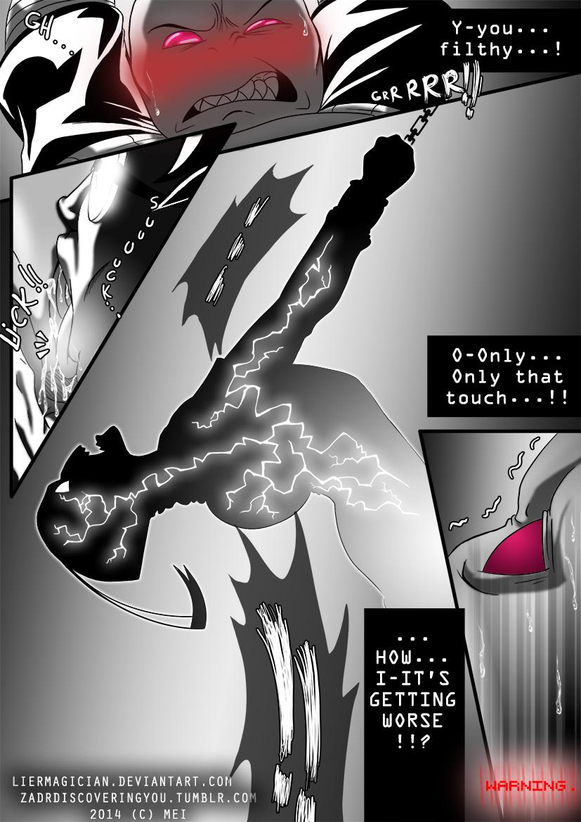 and invader zim red purple Nazo no kanojo x wiki