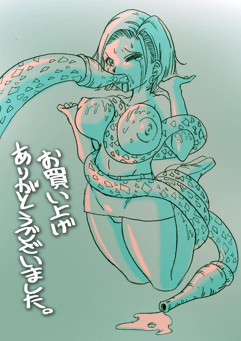 z 18 ball android and dragon krillin Kichiku haha shimai choukyou nikki