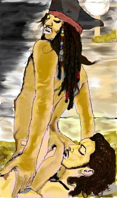 caribbean porn pirates comic of the Kara from detroit become human