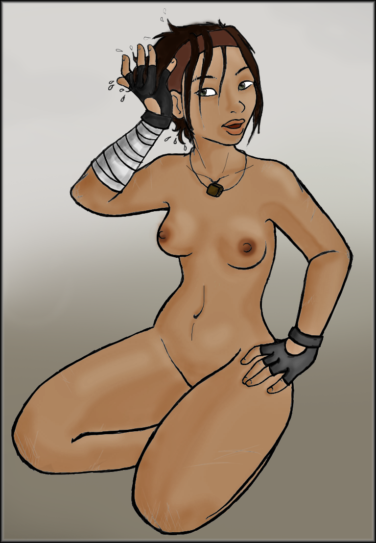 2 half nude life alyx Female to male transformation art