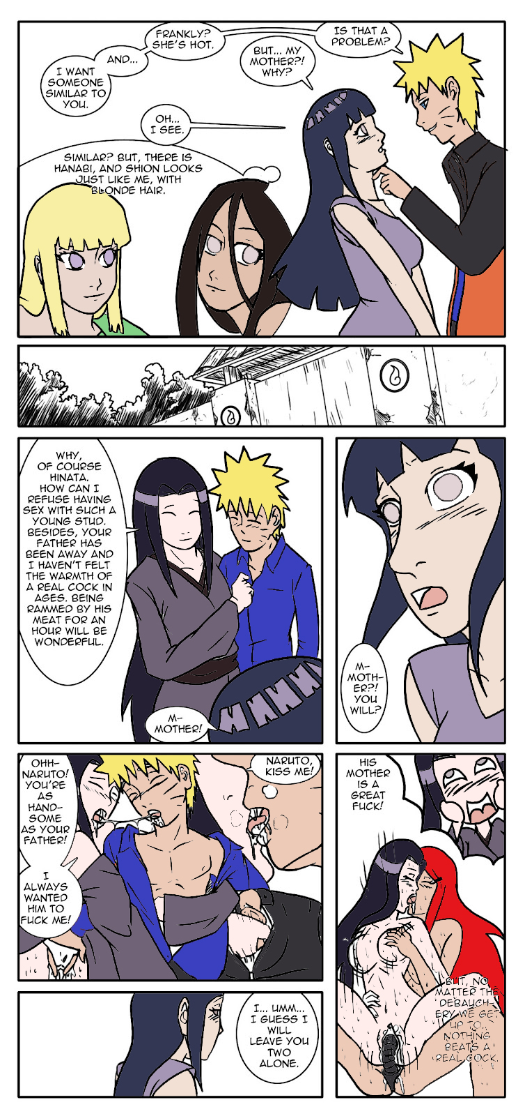 naruto a is mother fem fanfiction The witch of lynx crag