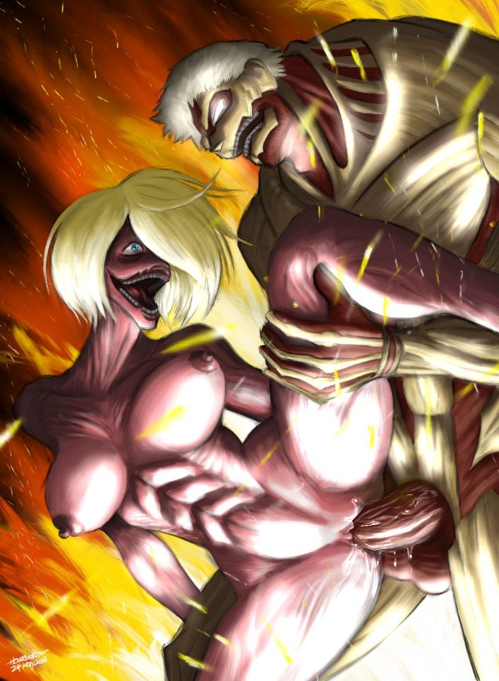 on attack misheard titan lyrics Maid san to boin damashii the animation