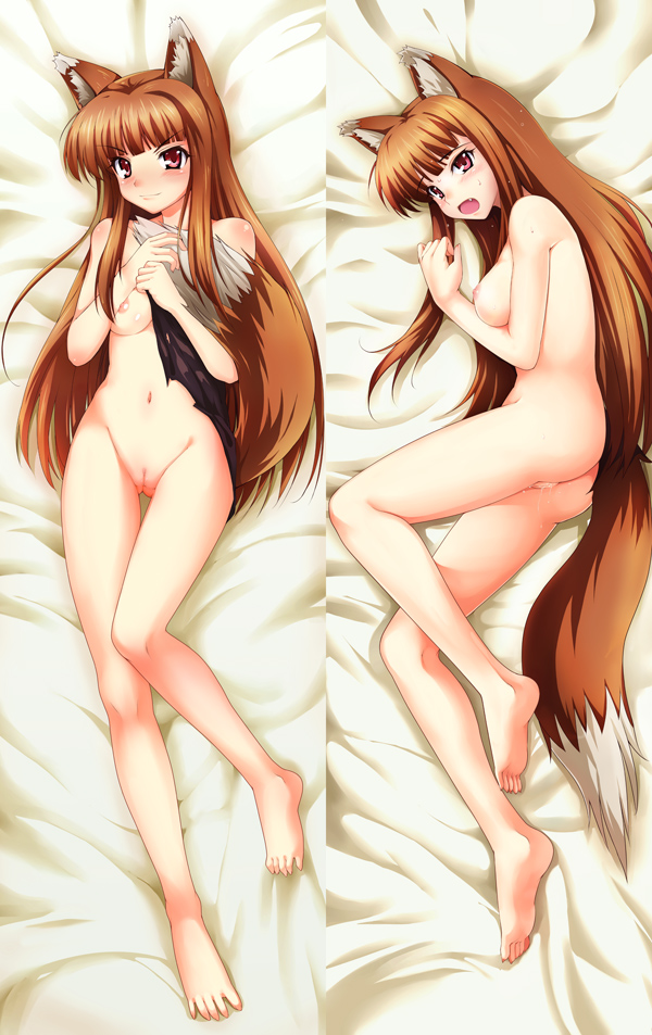 and spice nude cosplay wolf Tales of demos and gods