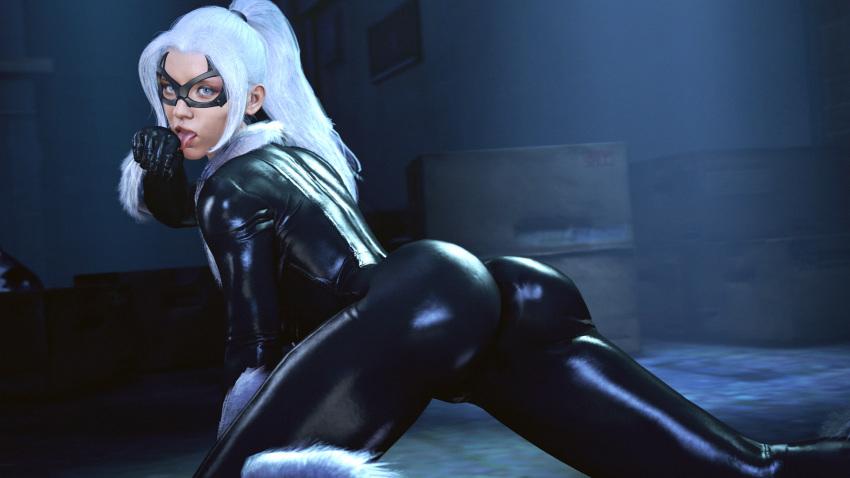 ps4 man black spider cat Mujaki_no_rakuen