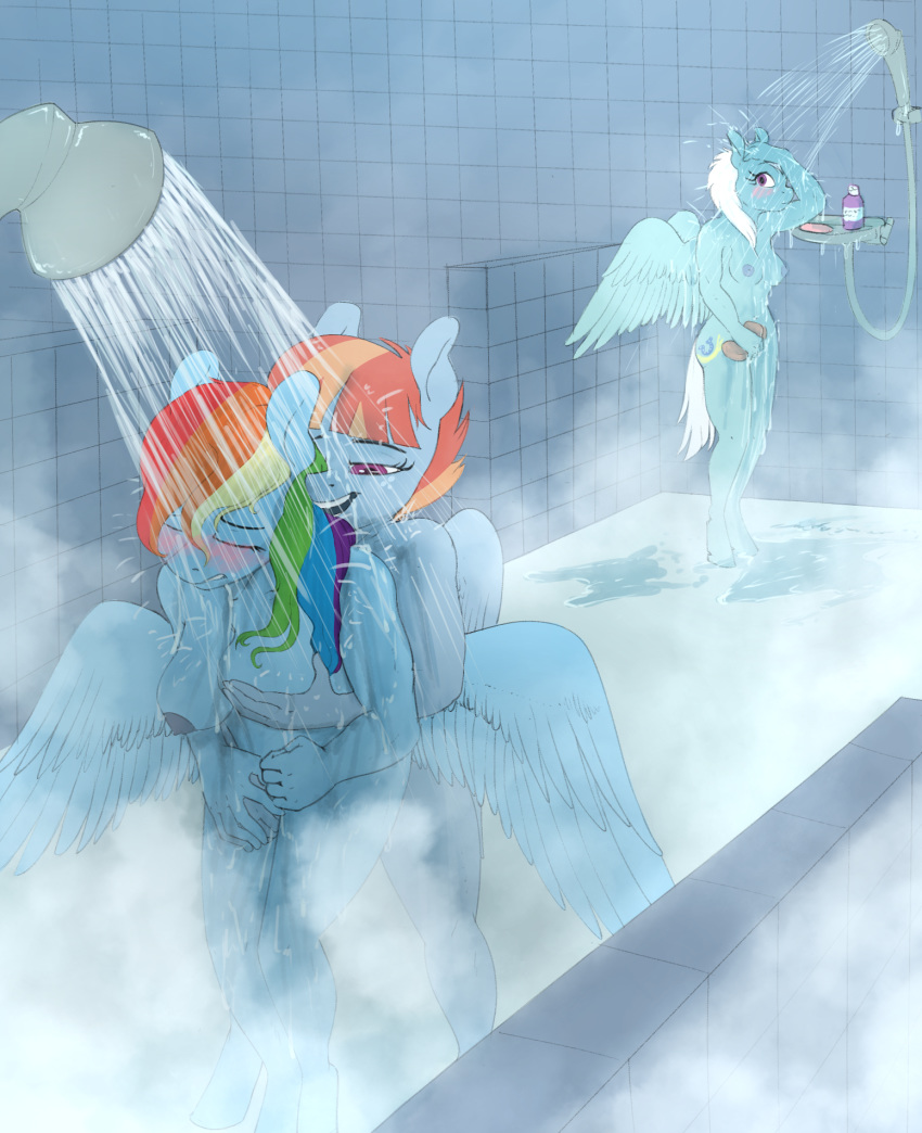 rainbow and vinyl dash scratch Lubella the witch of decay
