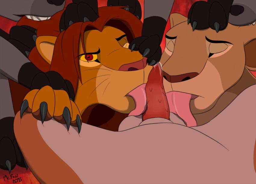 lion king kiara nala and Mass effect liara
