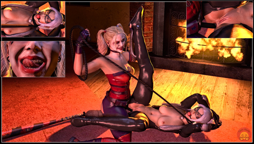 xxx quinn harley catwoman and We never learn
