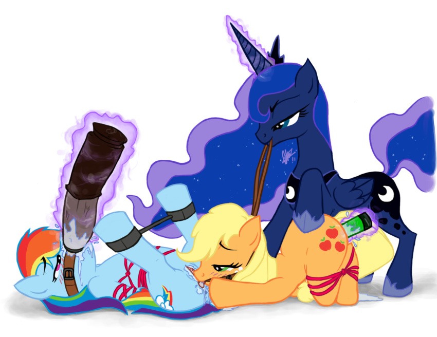 my magic applejack little is friendship pony: Mike tyson mysteries yung hee nude