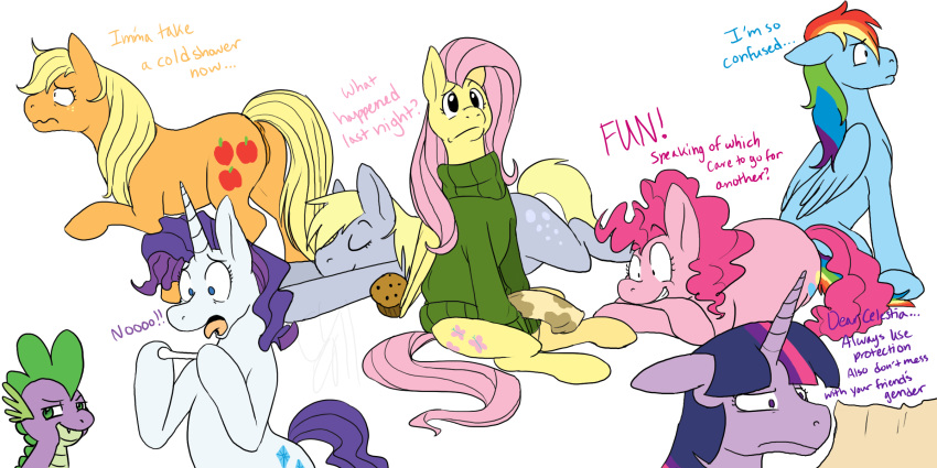 and whooves derpy dr mlp Feral couples: stallion delights