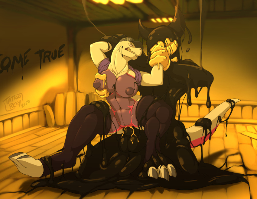 ink vore machine bendy the and How do you ride a penis