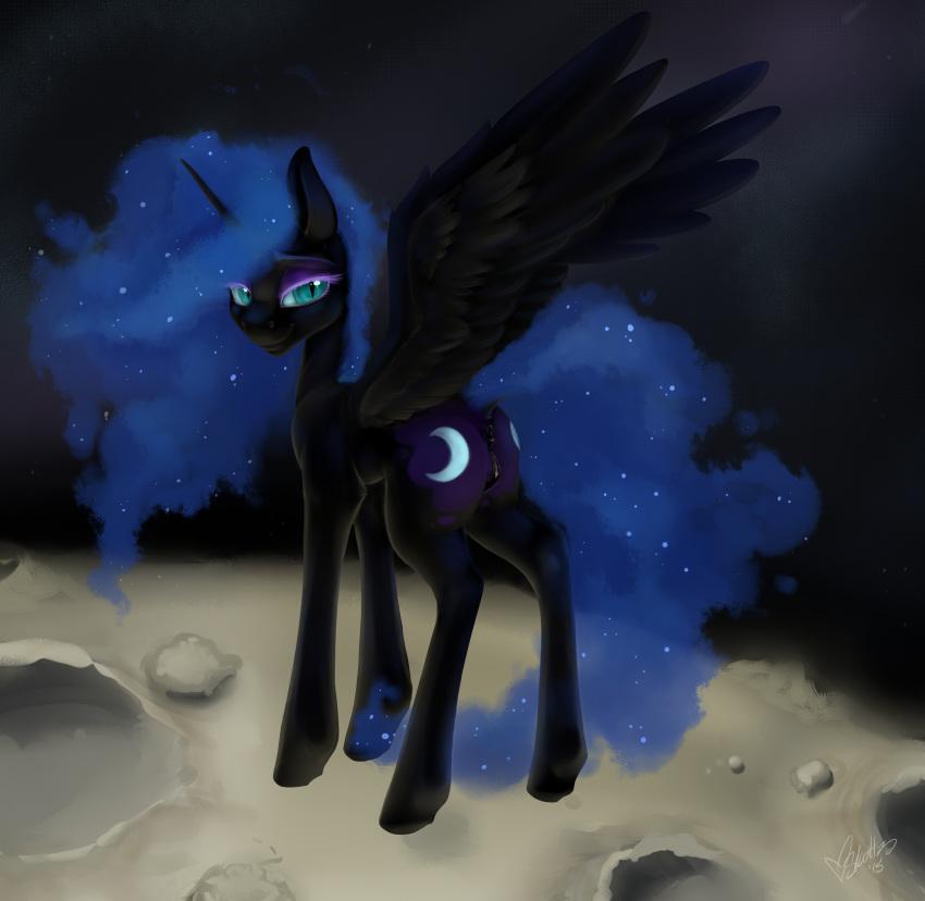 pictures nightmare sfm moon mlp Midnight my hero academia gif